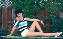 Melissa (cdgpix) Tags: girls portrait face glasses nikon women melissa leafs cdgpix