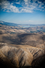 Lake Tahoe (Marielle B-R) Tags: california ca b red sky lake plane landscape village view nevada tahoe nv cessna incline marielle reiersgard