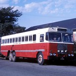South African Railways SAS MT 17810 ERF outside the railway station precinct at East London, Cape Province, South Africa. thumbnail