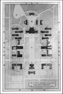 Campus plan by architect Myron Hunt (1908)