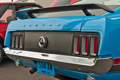 1970 Mustang Boss 302 (Muncybr) Tags: boss blue columbus ohio ford pony 1970 mustang 302 krieger fastback boss302 mustangclubofamerica mustangclubofohio allmustangshow photographedbybrianmuncy bobmabry