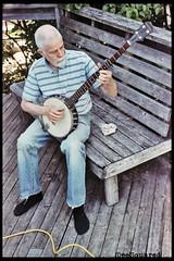 ( Digital Denial ) Tags: summer portrait colour 35mm backyard banjo halifax