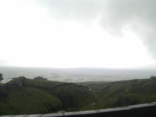 mist on hills