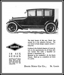 1916 In St. Louis, MO - The Dorris Motor Car Company - The latest in Body Design ~ 'Square Corners' (carlylehold) Tags: history st mobile louis stlouis here mo smartphone stories tmobile happens haefner carlylehold solavei haefnerwirelessgmailcom