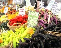 Farmes market stall