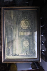 Notre Dame (blackthorne56) Tags: window glass treasure panel cathedral image antique interior stained notre dame goodwill