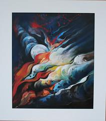 """Quadro """"Sensazioni notturne"""" (dina isacchi) Tags: moon night painting arte quadro luna astratto notte artista sensazioni dipinto"""