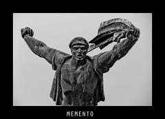 Memento park #11 (Babreka) Tags: blackandwhite bw sculpture monument statue canon eos blackwhite communism amateur socialism szoborpark szobor amatuer fekete fehér feketefehér 1100d amatőr mementopark kommunizmus szocializmus canon1100d