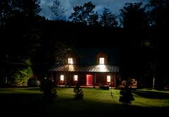 Camp Ankabos at night (Marny10) Tags: adirondacks northcreek cranemountain johnsburg