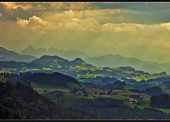 A view from the Tower of Gurten. (Bern ) . no. 74912. (Izakigur) Tags: summer mountains alps topf25 alpes landscape liberty schweiz switzerland nikon europa europe flickr suisse suiza swiss feel bern alpen helvetia nikkor svizzera alpi berne ch berna dieschweiz musictomyeyes  sussa 105mm suizo topf400 gurten romandie  nikon105mm myswitzerland lasuisse alpene 200faves nikon105 nikkor105 nikkor105mmf28vr  105mmf28vr 105f28  d700  alperne nikkor10528vr nikond700 nikon105mmf28gvrmicro nikon10528vr gurtenkulm nikon105mmf28gvr izakigur nikon105mmf28micro suisia imagesforthelittleprince laventuresuisse mygearandme izakiguralps izakigurberne  rememberthatmomentlevel1 izakigur2012 izakigurd700 nikonvr10528
