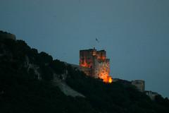 Moorish Fort at Twlight (California Will) Tags: gibraltar iberia lalneadelaconcepcin rockofgibraltat