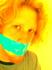 blue tape (Bmillzgag) Tags: bluetape tapegag tapemouth flickrandroidapp:filter=none