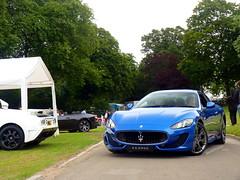 Gran Turismo Sport (BenGPhotos) Tags: auto blue white sports car sport grey photo italian chelsea ss super cal legends gran gt bugatti turismo cabrio supercar v8 maserati 2012 combo eb110 hrowen