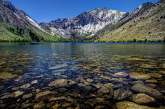 Convict Lake (Brian Koprowski) Tags: california lake mountains cali outdoors day pentax sierranevada alpinelake hdr paiute convictlake sigma10mm pentaxk5 briankoprowski bkoprowski