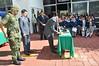 Honores a la Bandera y Ceremonia de Incineración de la Bandera