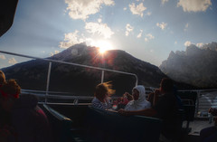 Sunset @ Jenny Lake (Sigmund Freud1) Tags: park old lake boat ride angle jenny wide grand stormy olympus falls basin hidden national springs yellowstone lower geyser tetons eruption faithful p01 prismatic fcon epl2