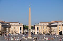 Piazza San Pietro (J-Fish) Tags: rome europe unescoworldheritagesite unesco obelisk vaticancity piazzasanpietro saintpeterssquare holysee d300s 1685mmf3556gvr 1685mmvr