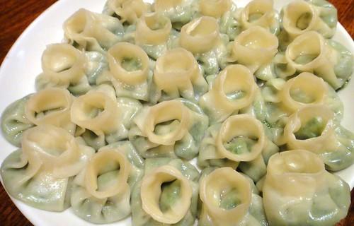 20120902蔓餃苑〜パラダイス家の野菜餃子1