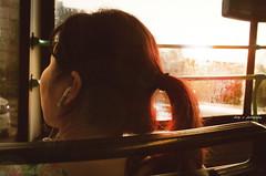 behind you iv : joyride (Chez C.) Tags: life street light boy reflection window glass girl kids hongkong asia child candid streetshots story