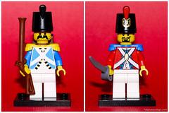 Lego Pirates - Imperial Guard (Fab joue aux Lego) Tags: lego minifig minifigs minifigure minifigures legominifig minifigurine minifiguresseries