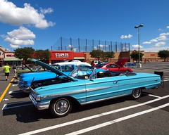 1964 Ford Galaxie Convertible Classic Car (jag9889) Tags: auto show blue plant classic ford car vintage newjersey antique nj convertible historic edgewater galaxie 1964 2012 assembly bergencounty 07020 zip07020 jag9889 y2012 edgewaterfordassemblyplantautoshow edgewaterculturalhistoricalcommittee