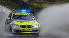 End Of Race Police Car