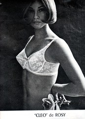 The 1960s-1964 Match ad for Rosy bra (april-mo) Tags: underwear bra ad lingerie 1964 the60s vintagead the1960s 1964ad rosybra vintagefrenchmagazine adforbra 1964frenchmagazine 1964adforbra