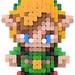 Pixel Art 3D Fimo 01