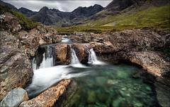 [ ... fairy pool falls ] (D-P Photography) Tags: green pool canon river flow scotland waterfall rocks stream isleofskye hiking ngc fairy lee nd polarizer cuillins isle schottland munro glenbrittle turquise syke cuillinmountains fairypools ndgrad leefilters fairypool canoneos5dmarkiii brauchnafrithe