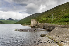 Spelga Dam Overflow (SewerDoc (200 Explores)) Tags: ireland mountains dam reservoir countydown silentvalley waterreservoir ireland2012