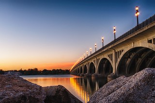 The Douglas MacArthur Bridge - Belle Isle - Detroit, MI
