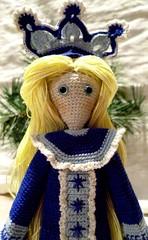 Snow Maiden (1) (McFiberNutt) Tags: thread miniature crochet folklore amigurumi
