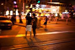 1000th Photo!! (Choollus) Tags: china travel travelling night noche blurry nikon asia nacht candid beijing noite viaggio notte cina 2012 viajar streetshot wudaokou viajo pekin pechino viaggiare septemper nikond700
