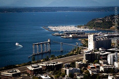 "View from the Space Needle. Seattle, WA, USA • <a style=""font-size:0.8em;"" href=""http://www.flickr.com/photos/35947960@N00/8000411541/"" target=""_blank"">View on Flickr</a>"