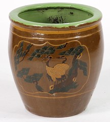 62. Antique Japanese Planter