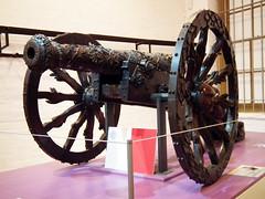 Bronze Falcon (Mike Slade.) Tags: hampshire portsmouth artillery fortnelson royalarmouries fieldgun bronzefalcon