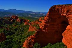 Las Medulas (blancaelena_muizmartinez) Tags: naturaleza castilla y leon castillayleon spain luz rocas