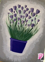 IMG_0698 (Nllo) Tags: drawing draw lavender flower