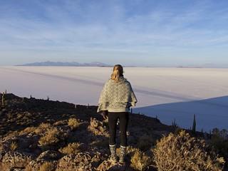 Excursion bolivienne, Salar d'Uyuni, Île Incahuasi