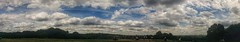 Parliament Hill Cloudscape (Climate_Stillz) Tags: parliamenthill hampstead hampsteadheath views panorama sky clouds cloudscape cloudspanorama bluesky puffyclouds summer hot sunnyday interesting greenery london mobilephotography nexus5