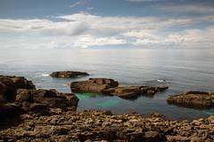 Stoer (Teuchter Prof) Tags: stoer stoerlighthouse theminch sea shore rockyshore rockyshoreline turquoisewater westcoast northwestcoast sutherland scotland