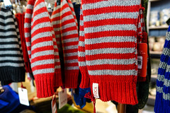 I Got Stripes (gabi-h) Tags: knitwear ireland shop gabih stripes grey red blue avoca countywicklow