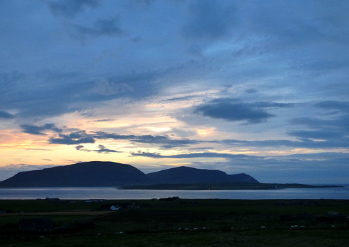 Hoy And Graemsay - An Evening View