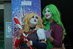 Harley Quinn & Crossplay Joker (IncognitoImages) Tags: cosplay cosplayer stockton stocktoncon harley harleyquinn joker crossplay crosplayjoker genderbent genderbender amature amaturephotography amaturephoto amaturephotographer