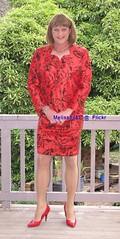 Suit 54f (Melissa451) Tags: skirtsuit highheels