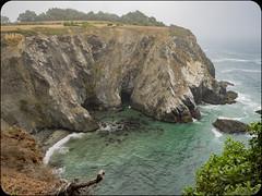 View From Deck (adolgov) Tags: california mendocino ocean pacificcoasthighway pch pacificocean