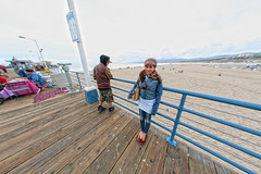 IMG_8765 (Monica's Dad) Tags: santamonica california beach fisheye pier santamonicapier southerncalifornia