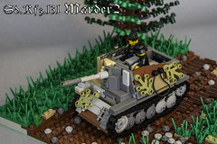 Sdk.fz.131 Marder2 (kr1minal) Tags: lego wwii world war moc diorama marder nazi german 2 sdk brickmania