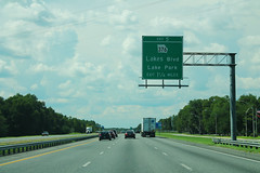 Int75nRoadGA-Exit5-GA376LakePark (formulanone) Tags: georgia i75 interstate75 road roadsign ga376 lakepark highway freeway interstate