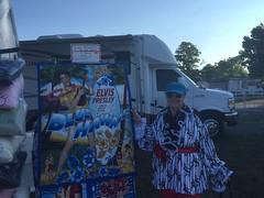 Mom and Elvis Impersonators (BlueVelvet2012) Tags: elvis jailhouserock jail prison elvisimpersonators music festivalfabric spoonflower clothing designerclothing kiss elvispresley